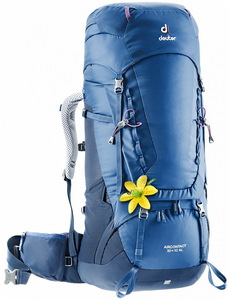 Рюкзак Deuter Aircontact 50 + 10 SL (steel-midnight)
