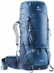 Рюкзак Deuter Aircontact 55 + 10 (midnight-navy)