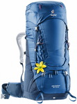 Рюкзак Deuter Aircontact 60 + 10 SL (steel-midnight)