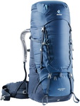 Рюкзак Deuter Aircontact 65 + 10 (midnight-navy)