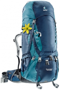 Рюкзак Deuter Aircontact 70 + 10 SL (midnight-denim)