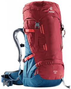 Рюкзак Deuter Fox 40 (cranberry-steel)