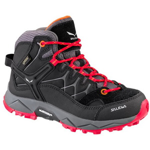 Детские ботинки Salewa Alp Trainer Mid Gore-Tex Kids (Black/Bergrot)
