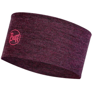 Повязка Buff Midweght Merino Wool Headband (Dahlia Melange)