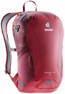 Рюкзак спортивный Deuter 2019 Speed Lite 12 (cranberry-maron)