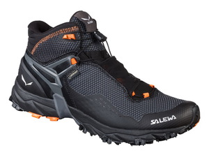 Ботинки для хайкинга Salewa Ultra Flex Mid Gore-Tex Men's (Black/Holland)