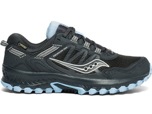 Беговые кроссовки Saucony VERSAFOAM EXCURSION TR13 GTX (Black/Blue)