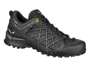 Треккинговые кроссовки Salewa Wildfire Gore-Tex Men's (Black Out/Silver)