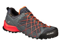 Треккинговые кроссовки Salewa Wildfire Gore-Tex Men's (Ombre Blue/Fluo Orange)